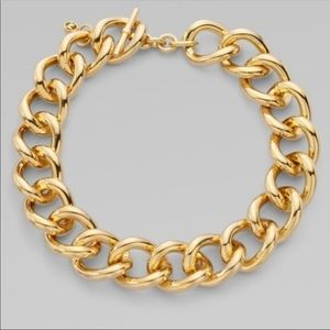 Michael Kors Chunky Toggle Chainlink Necklace